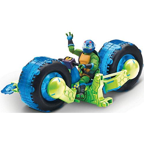 Мотоцикл Playmates с фигуркой Лео, серия ROTMNT от PLAYMATES