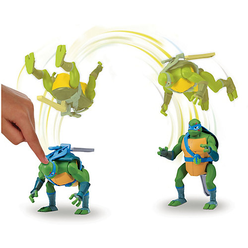 Фигурка Playmates Черепашки-ниндзя Леонардо ниндзя-атака, серия ROTMNT от PLAYMATES