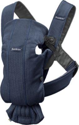 Рюкзак-кенгуру BabyBjorn Mini Mesh, тёмно-синий