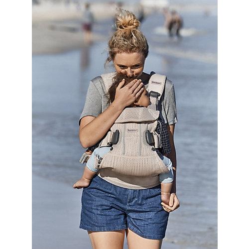 Рюкзак-кенгуру BabyBjorn One Mesh, жемчужно-розовый от BabyBjorn