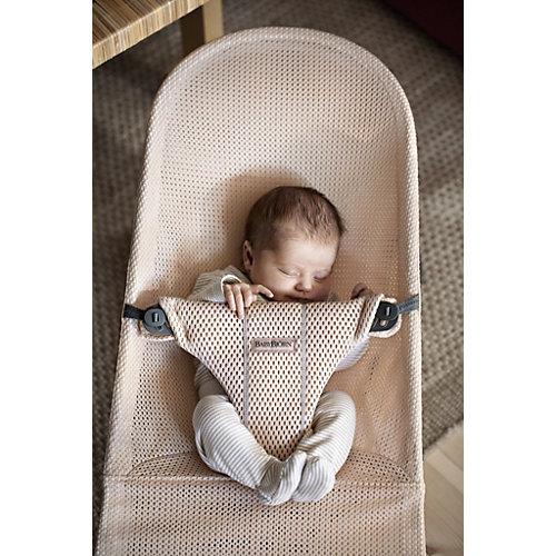 Кресло-шезлонг BabyBjorn Bliss Mesh, жемчужно-розовый от BabyBjorn