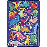 """Пазл в рамке Dodo """"Динозавры"""", 53 элемента"""