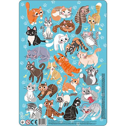 "Пазл в рамке Dodo ""Коты"", 53 элемента от Dodo"