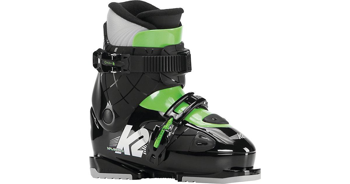Skischuhe XPLORER 2 schwarz/grün Gr. 31