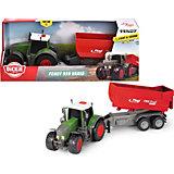 Трактор с прицепом Dickie Toys Fendt 939 Vario, фрикционный, 41 см