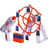 """Игровой набор Junfa """"Галактическое оружие"""", Пистолет и установка для мишеней"""