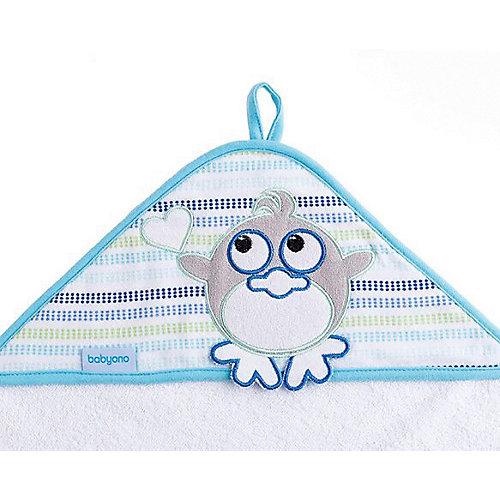 Полотенце BabyOno Soft 100х100 см - белый от BabyOno