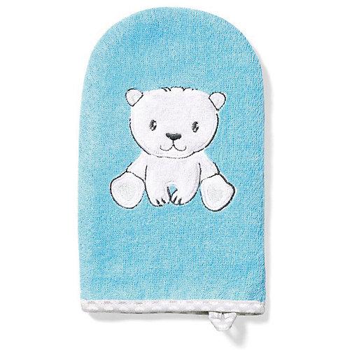 Рукавичка для купания BabyOno Bamboo - голубой от BabyOno