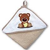 Полотенце для купания Uviton Baby 100х100 см, Мишка