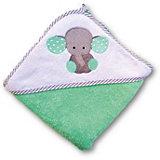 Полотенце для купания Uviton Baby 100х100 см, Слоник