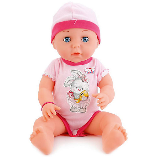Интерактивная кукла-пупс Карапуз 40 см, 3 функции от Карапуз