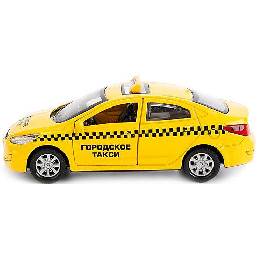 Машинка Технопарк Hyundai Solaris Такси, 12 см от ТЕХНОПАРК