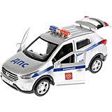 Машинка Технопарк Hyundai Creta Полиция 12 см, свет, звук