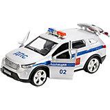 Машинка Технопарк Hyundai Santafe Полиция, 12 см