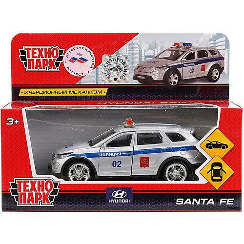 Машинка Технопарк Hyundai Santafe Полиция, 12 см от ТЕХНОПАРК