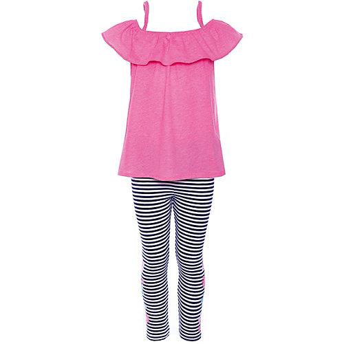 Комплект: Топ и леггинсы carter's для девочки - блекло-розовый от carter`s