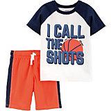 Комплект: футболка и шорты carter's для мальчика