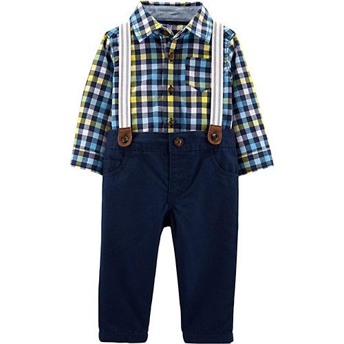 Комплект: рубашка и брюки carter's для мальчика - синий от carter`s