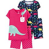 Пижама 2 шт carter's для девочки