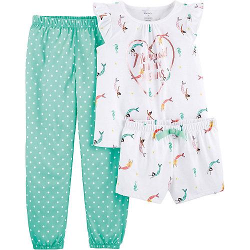 Пижама carter's для девочки - белый от carter`s