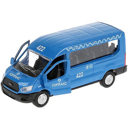 Инерционная машина Технопарк Ford Transit, синий от ТЕХНОПАРК