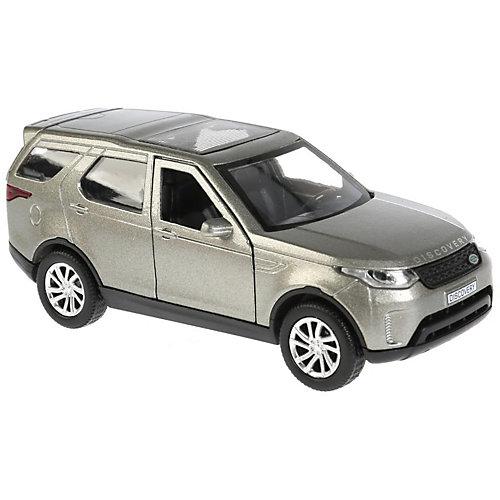 Инерционная машина Технопарк Land Rover Discovery, серый