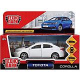 Инерционная машина Технопарк Toyota Corolla, белый