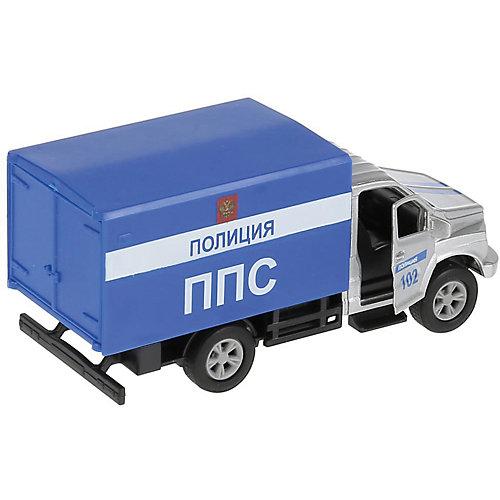 Инерционная машина Технопарк ГАЗ Газон Next, Полиция от ТЕХНОПАРК