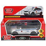 Инерционная машина Технопарк Land Rover, Range Rover Evoque, Полиция