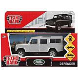 Инерционная машина Технопарк Land Rover Defender, серебрянный