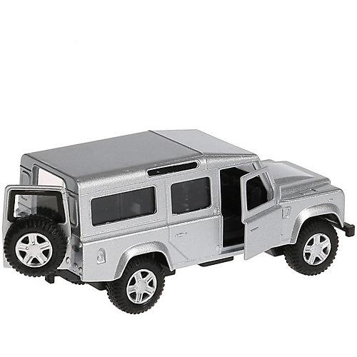 Инерционная машина Технопарк Land Rover Defender, серебрянный от ТЕХНОПАРК