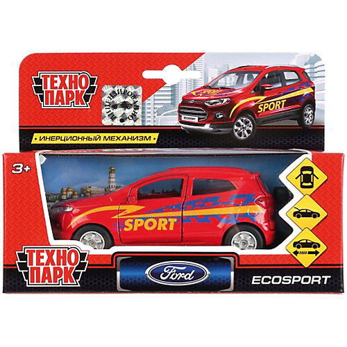 Инерционная машина Технопарк Ford Ecosport, Спорт от ТЕХНОПАРК