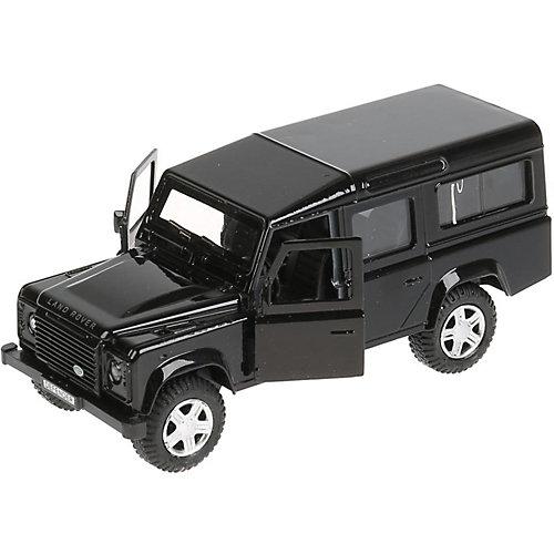 Инерционная машина Технопарк Land Rover Defender, черный от ТЕХНОПАРК