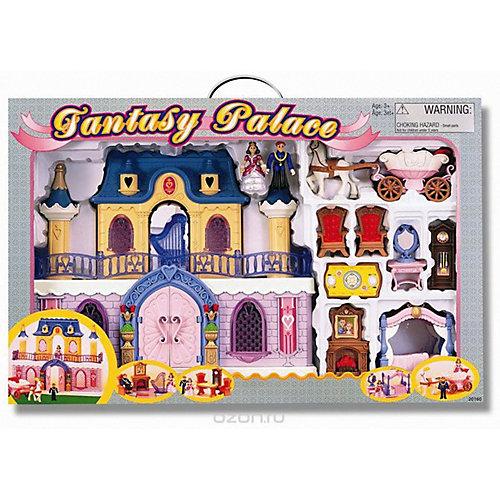 Игровой набор Keenwаy Fantasy Palace дворец с каретой и предметами от Keenway