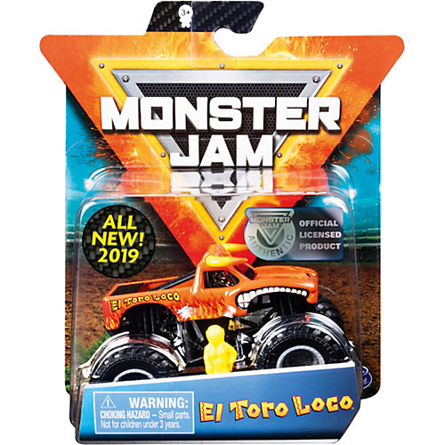 Мини-машинка Spin Master Monster Jam, оранжевая от Spin Master