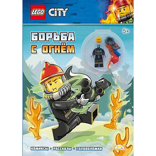 Книга с игрушкой LEGO CITY Борьба с огнем от LEGO