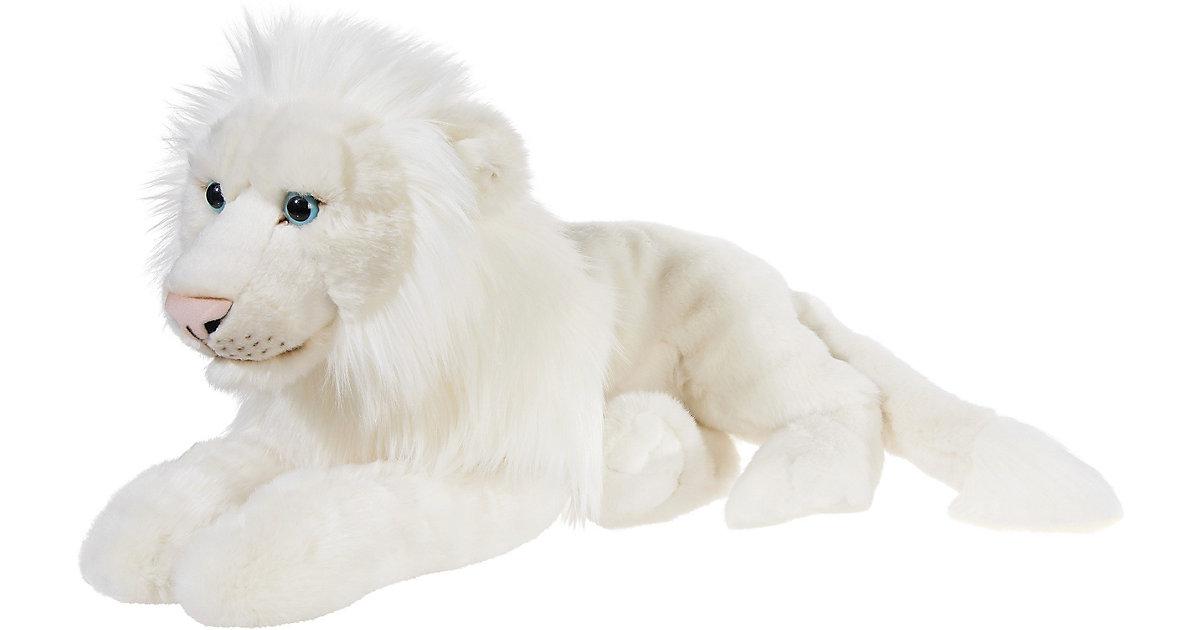 HEUNEC · MISANIMO Weisser Löwe liegend 50 cm