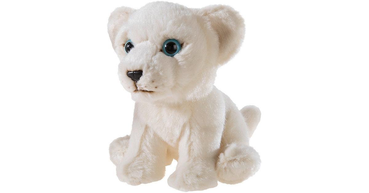 MISANIMO Weisser Löwe sitzend 15 cm