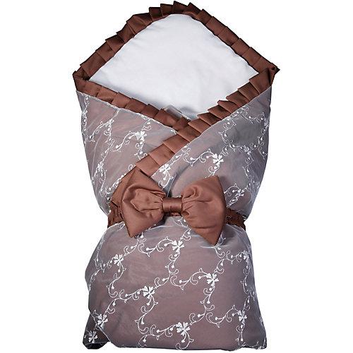 """Одеяло на выписку Эдельвейс """"Беллиссимо"""", 95х95 см - коричневый от Эдельвейс"""