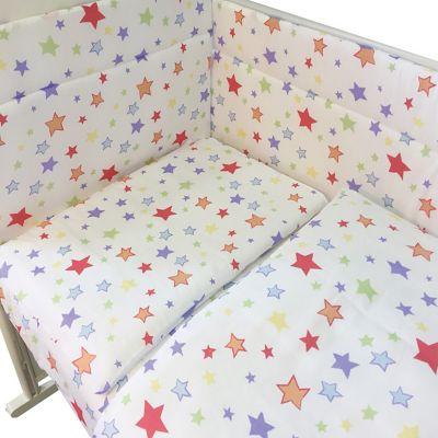 """Комплект в кроватку Эдельвейс """"Млечный путь"""", 4 предмета"""