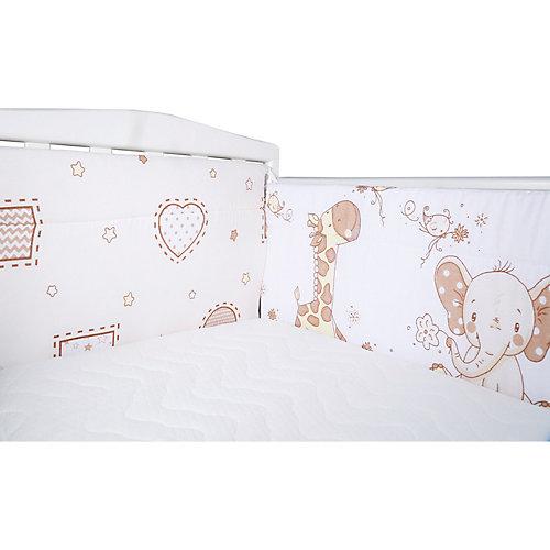 """Бортик на кроватку Эдельвейс """"Африка"""", 40х360 см от Эдельвейс"""