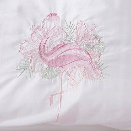 Комплект в кроватку Эдельвейс, 4 предмета, розовый - розовый от Эдельвейс