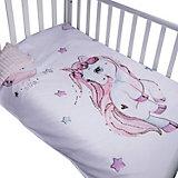 """Двусторонний плед """"Эдельвейс"""", 100х140 см, розовый"""