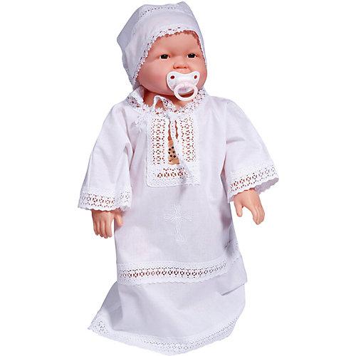 """Крестильная рубашка """"Эдельвейс"""", поплин - белый от Эдельвейс"""