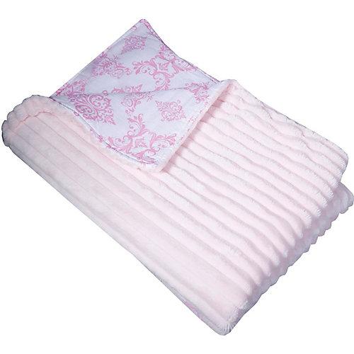 """Двусторонний плед """"Эдельвейс"""", 90х90 см, розовый - розовый от Эдельвейс"""