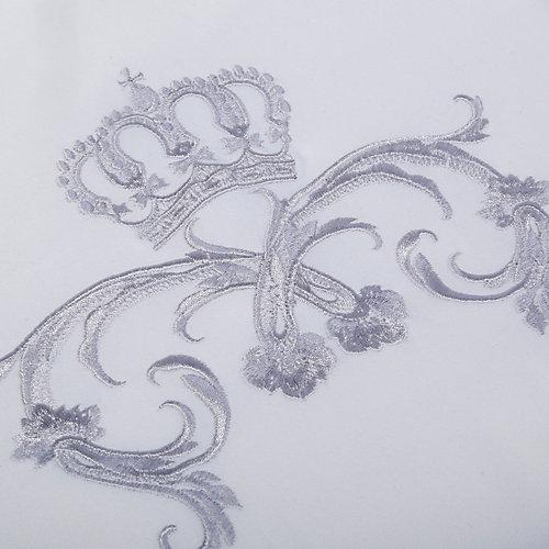 """Плед Эдельвейс """"Версаль"""", 85х85 см, интерлок, молочный - бежевый от Эдельвейс"""
