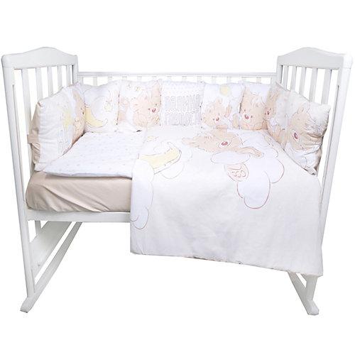 """Комплект в кроватку Эдельвейс """"Мой медвежонок"""", 6 предметов - atlantikblau от Эдельвейс"""