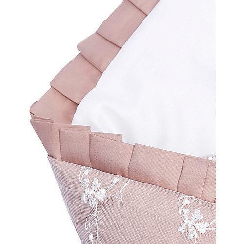 """Одеяло на выписку Эдельвейс """"Беллиссимо"""", 95х95 см, бежевое - бежевый от Эдельвейс"""