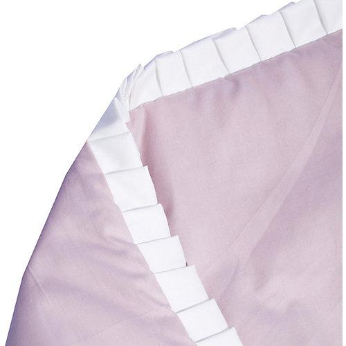 """Одеяло на выписку Эдельвейс """"Цветы"""", 90х90 см, розовое - розовый от Эдельвейс"""