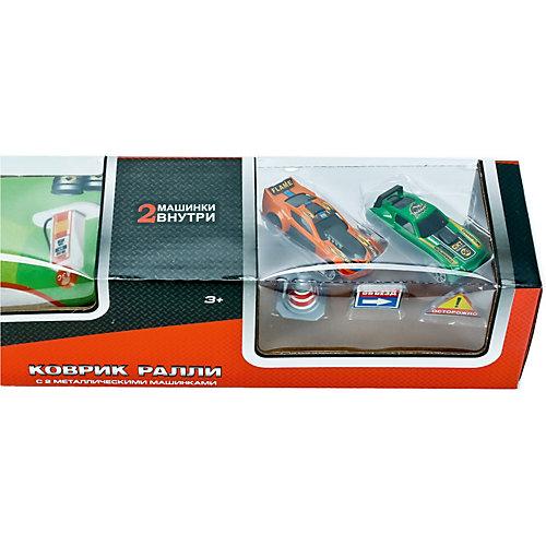 Коврик игровой Технопарк с машинками от ТЕХНОПАРК